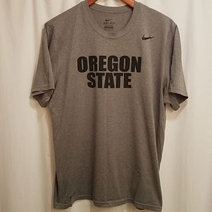 Nike Oregon State Dri - Fit Gray T Shirt